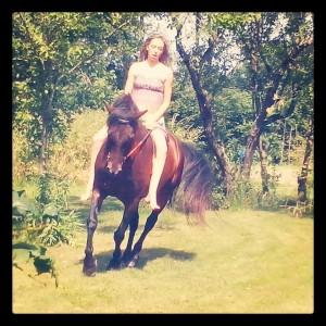 équitation = sensation (Zoé et Kastille)