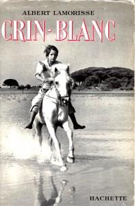 couverture du livre originel de Crin-blanc