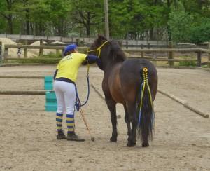 natalia et son poney Roméo