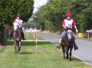 chevaux et cavaliers en endurance équestre