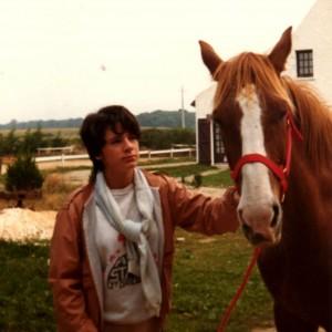 jeune fille et son cheval