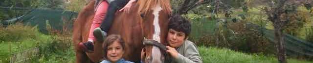 le cheval Forez et les enfants