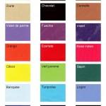 palette de tissus disponible pour composer votre culotte d'équitation Safi