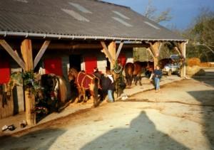 Décembre 1996, il fait beau et froid, très froid.