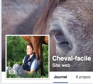 page facebook du blog Cheval-facile