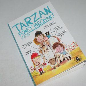 livre Tarzan, poney méchant
