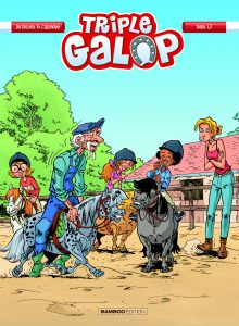 Couverture de la BD TRIPLE GALOP- tome 13